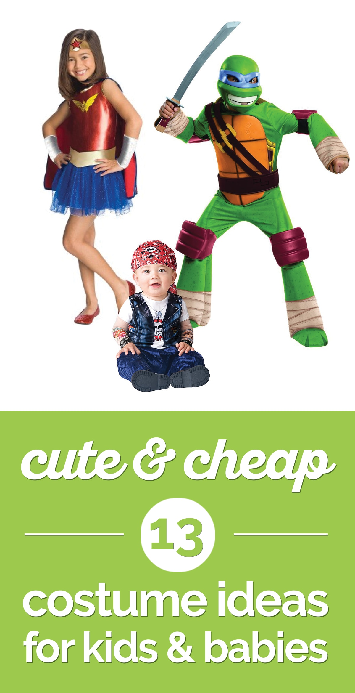 13 Cute & Cheap Costume Ideas for Kids & Babies | the good stuff