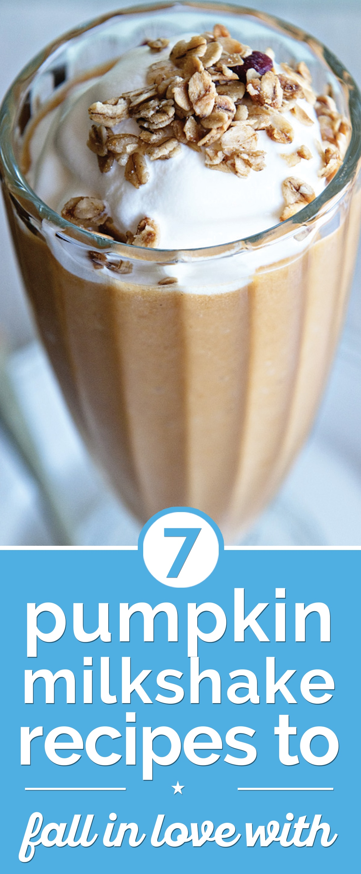 6 Pumpkin Milkshake Recipes to Fall In Love With | the good stuff