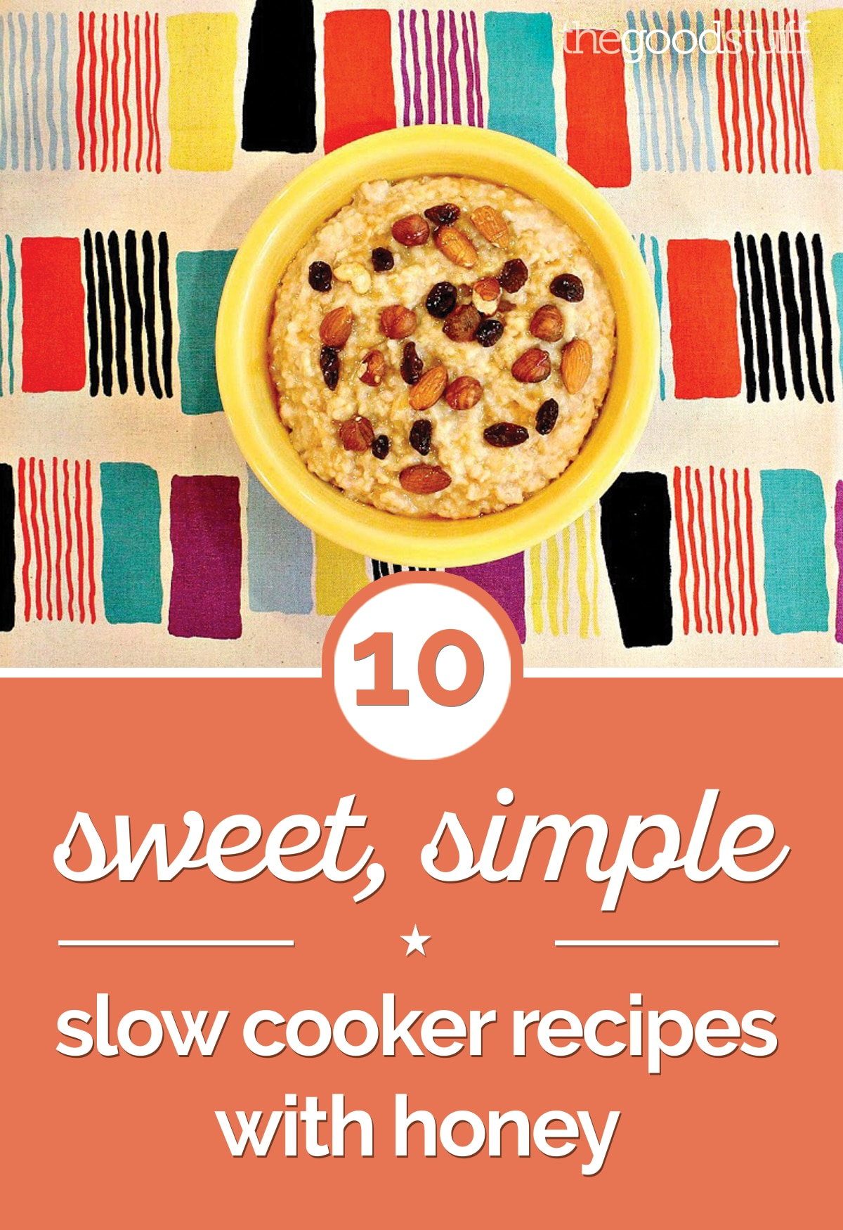 10 Sweet, Simple Slow Cooker Recipes with Honey | thegoodstuff