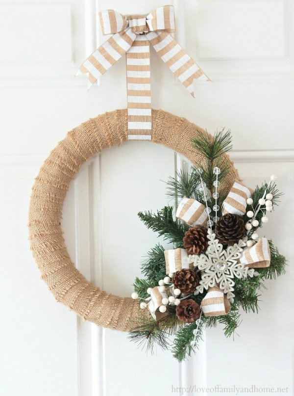 20 diy thanksgiving christmas wreath ideas thegoodstuff Christmas wreaths to make