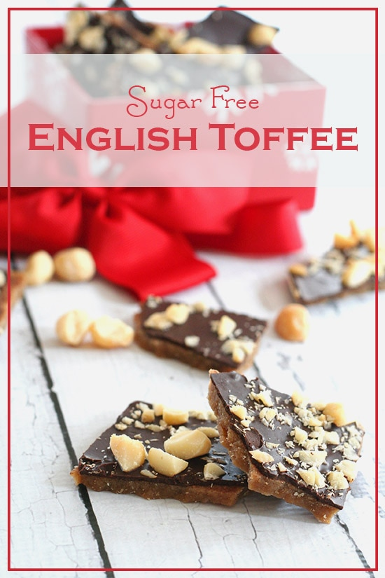 Easy Baking Recipes with Sugar Substitutes: Sugar-Free English Toffee | thegoodstuff