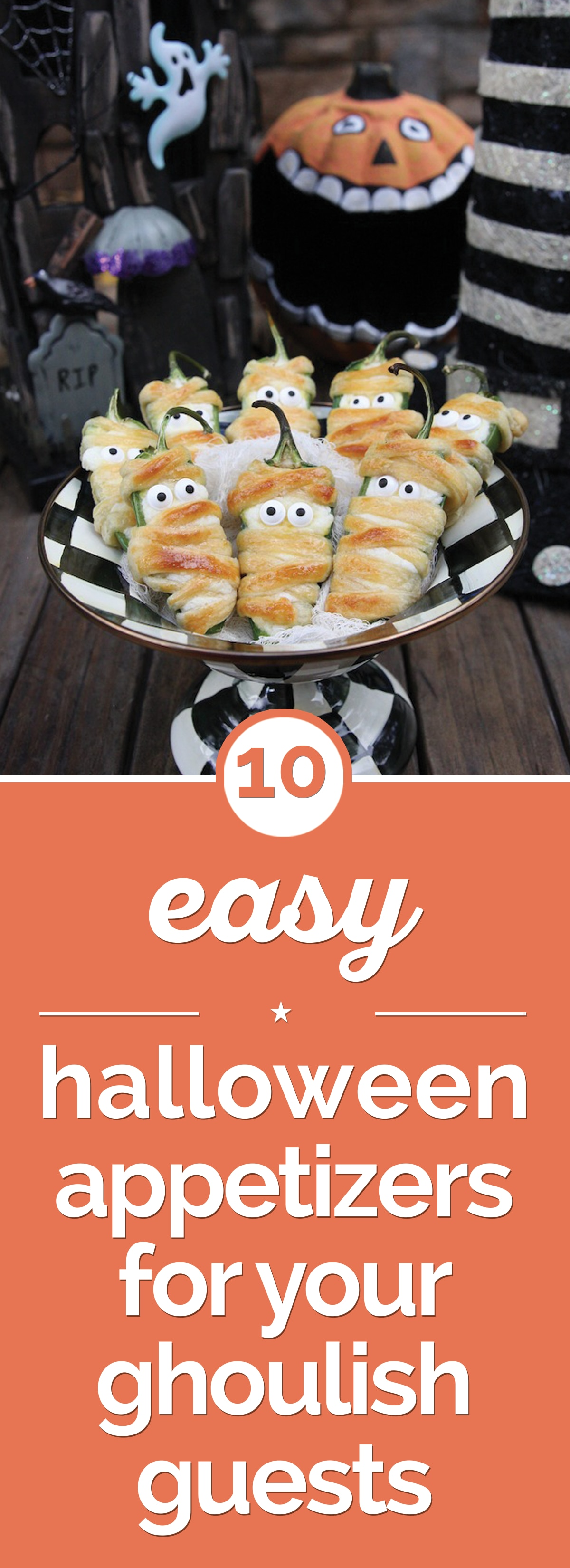 10 Easy Halloween Appetizers for Your Ghoulish Guests | thegoodstuff