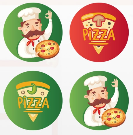 Hostess Helpers: Free Pizza Party Printables: Kids' Pizza Party Cupcake Toppers | thegoodstuff