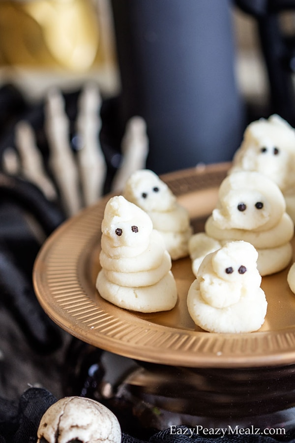 Halloween Dinner Ideas: Mashed Potato Ghosts | thegoodstuff