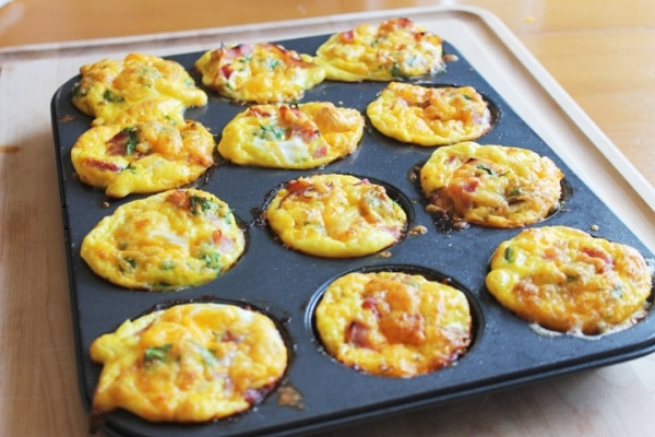 6 Easy, Healthy Breakfast Ideas for Kids: Breakfast Casserole Muffins | thegoodstuff
