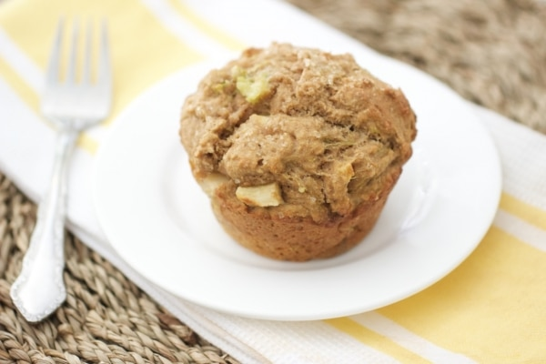 6 Easy, Healthy Breakfast Ideas for Kids: Zucchini Apple Muffins | thegoodstuff