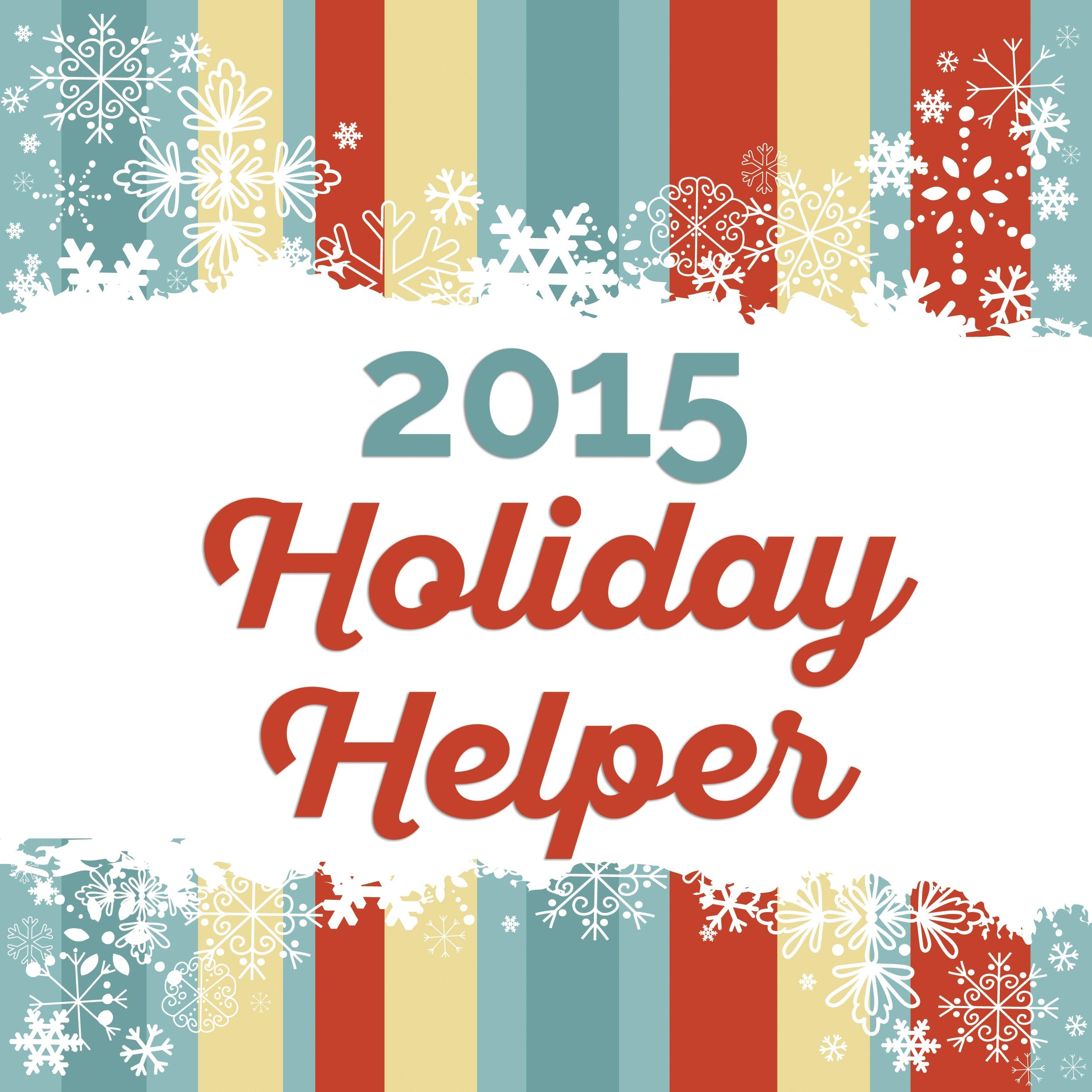 Holiday Helper: 12 Weeks of Prep, Saving Time, Saving Money | thegoodstuff