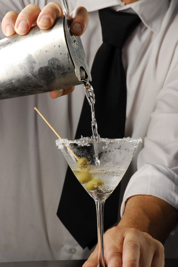 It's easier to make a bad Dirty Martini than it is to make a great one. That touch of olive brine added to the drink can make the cocktail too salty or impart the stale, musty taste of olives bottled during the last century. Your Dirty Martini can also suffer from not being cold enough, too boozy.