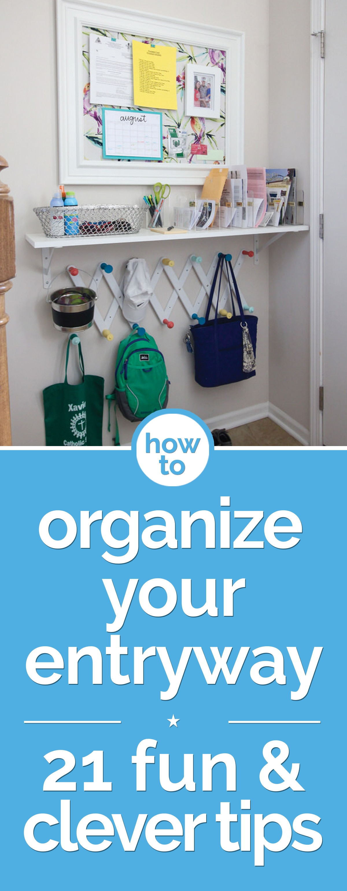 Lovely How To Organize Your Entryway: 21 Fun U0026 Clever Tips | Thegoodstuff Nice Ideas