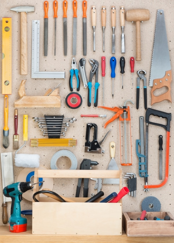 How to Organize Your Garage | thegoodstuff