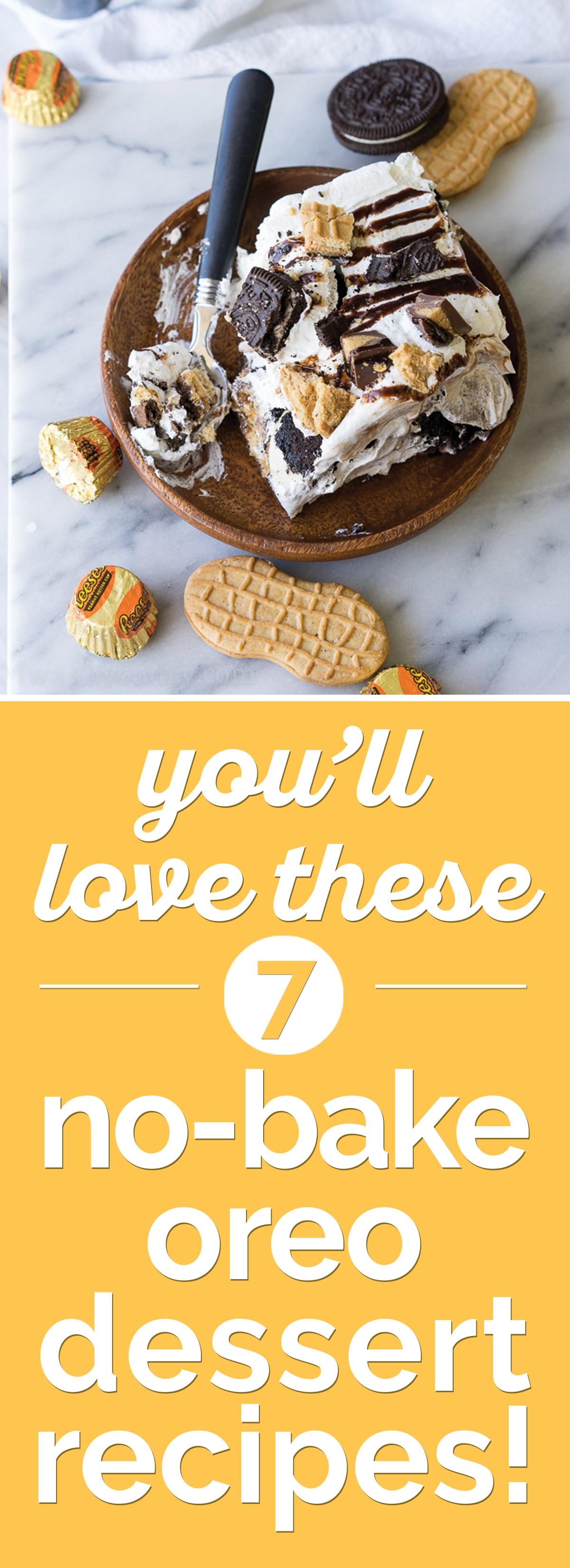 You'll Love These 7 No-Bake Oreo Dessert Recipes! | thegoodstuff