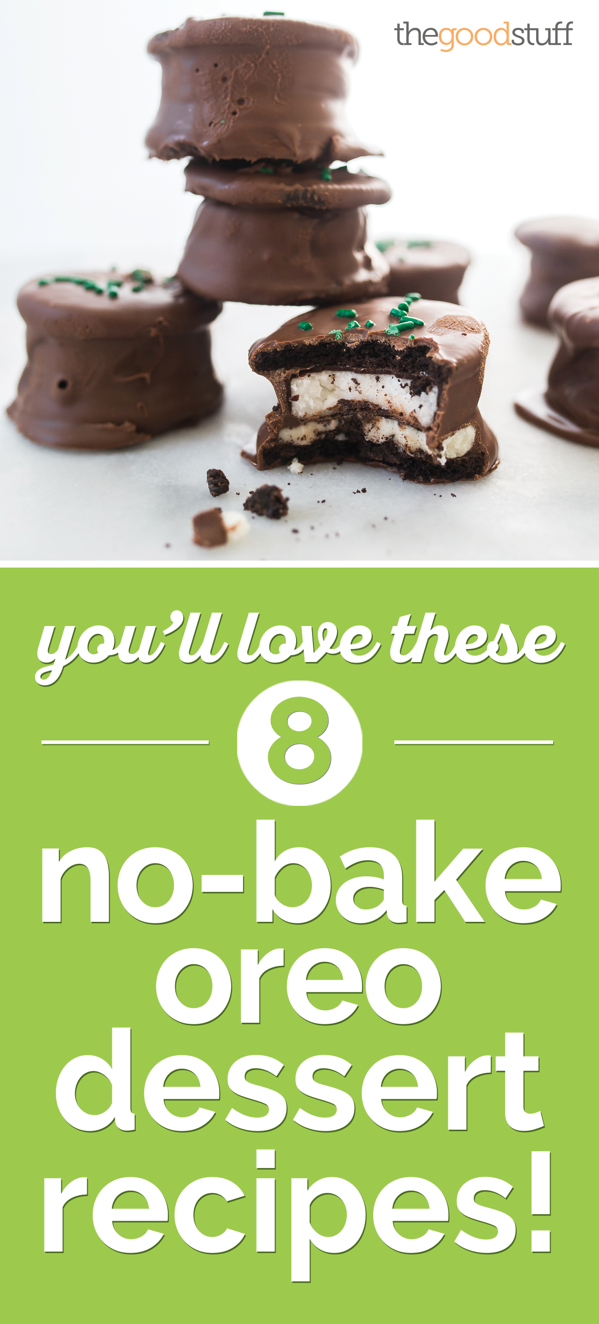 You'll Love These 7 No-Bake Oreo Dessert Recipes! | thegoodstuff
