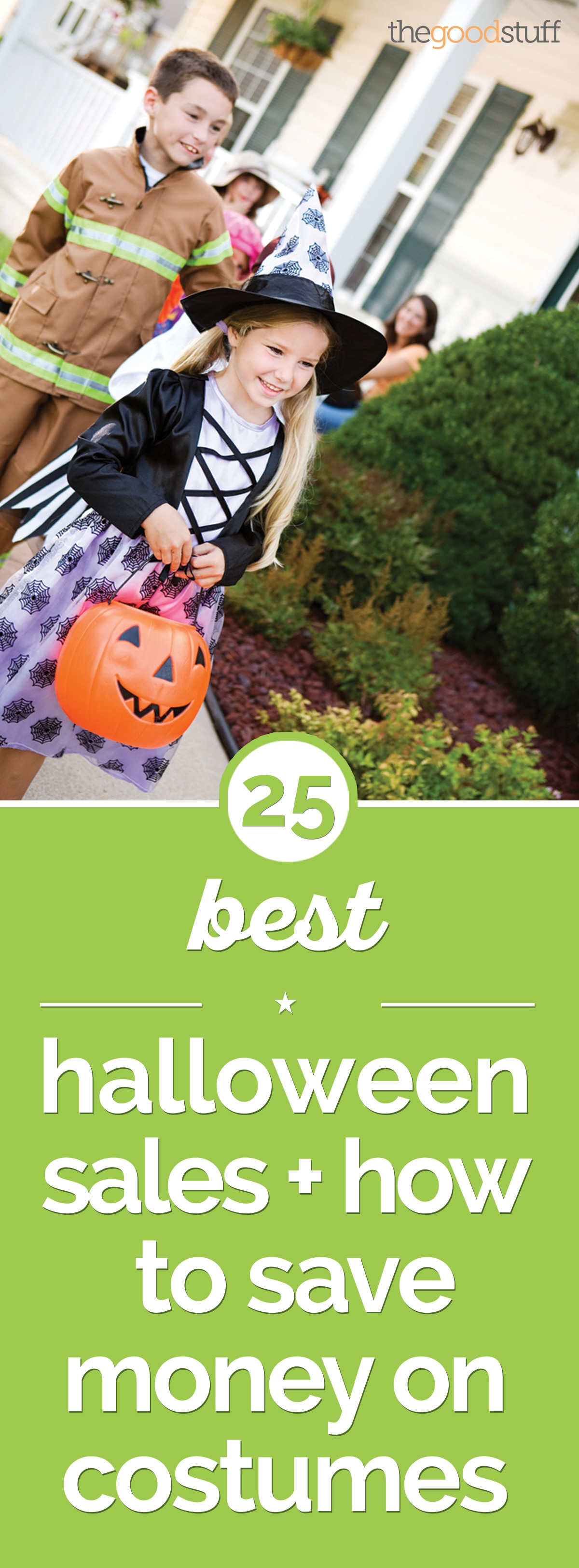 25+ Best Halloween Sales + How to Save Money on Costumes | thegoodstuff