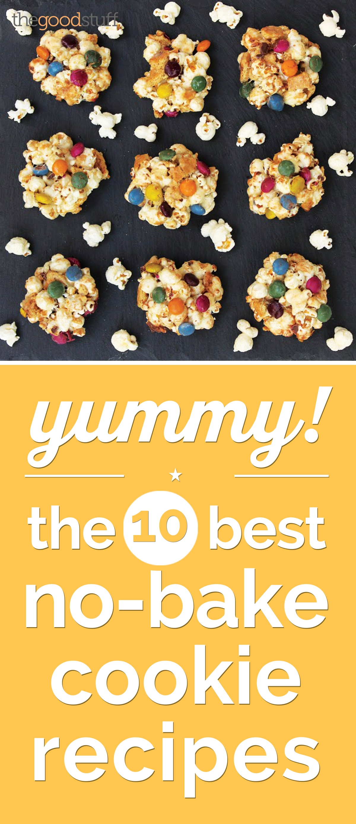 Yummy! The 10 Best No-Bake Cookie Recipes | thegoodstuff