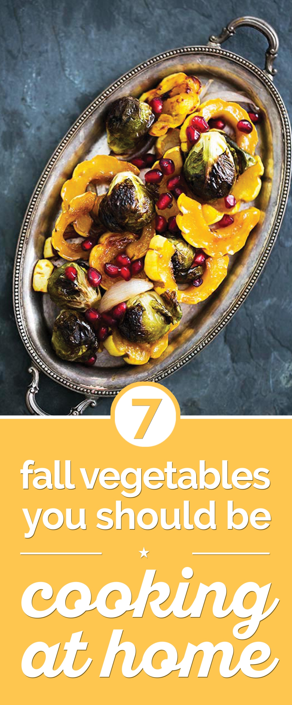 7 Fall Vegetables You Should Be Cooking at Home | thegoodstuff
