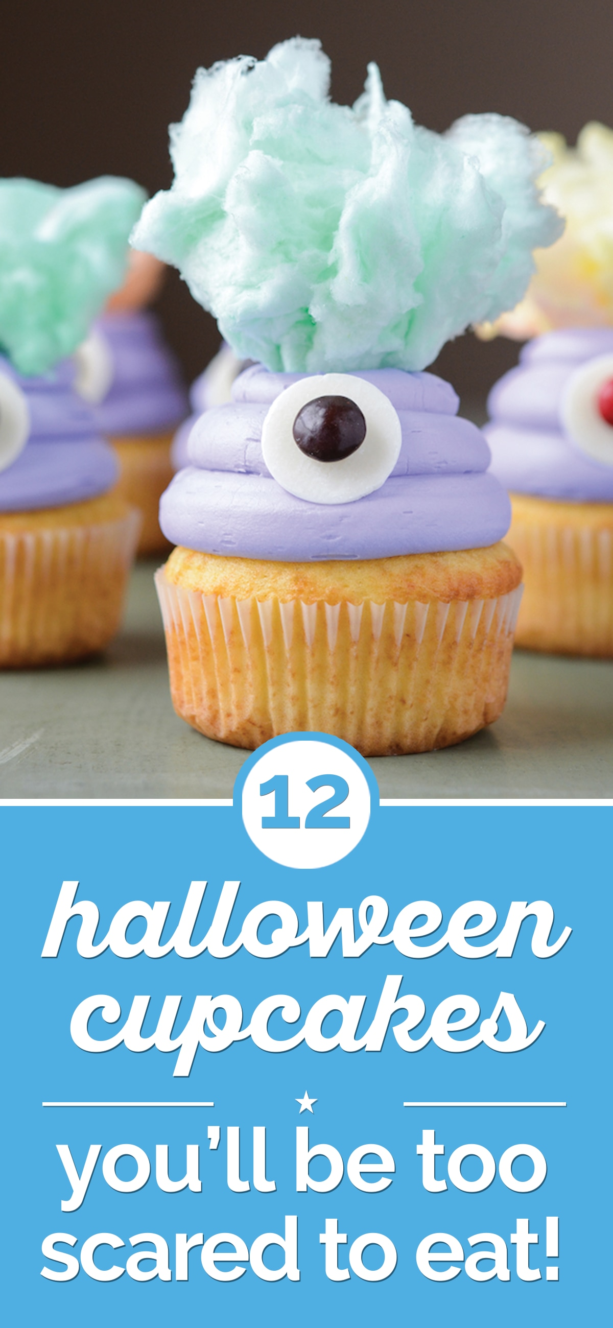 12 Halloween Cupcakes You'll Be Too Scared to Eat! | thegoodstuff