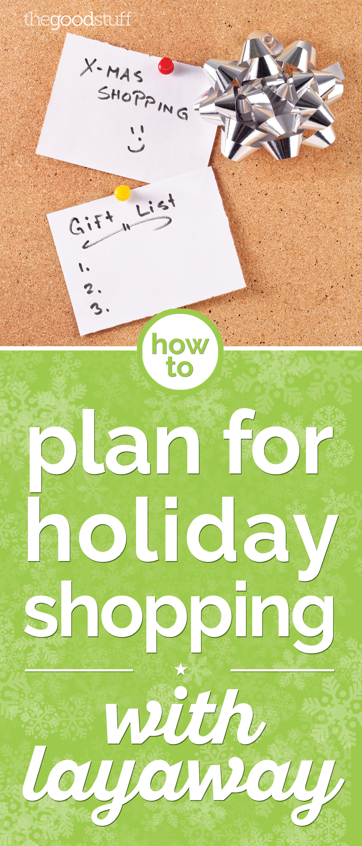How to Plan for Holiday Shopping with Layaway | thegoodstuff