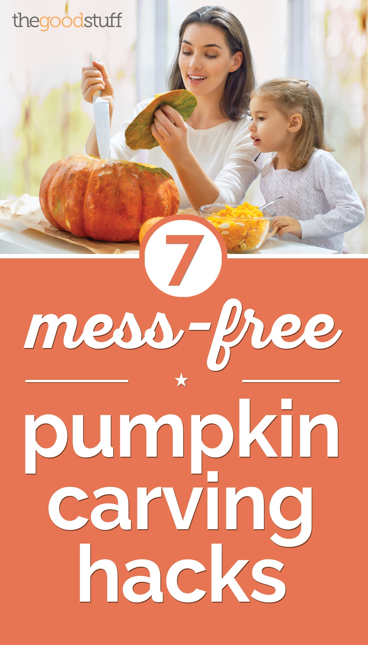 7 Mess-Free Pumpkin Carving Hacks | thegoodstuff