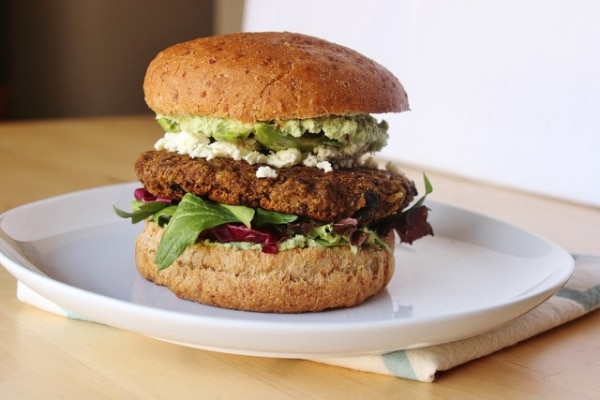 Surprising Uses for Pumpkin: Pumpkin & Black Bean Veggie Burger | thegoodstuff