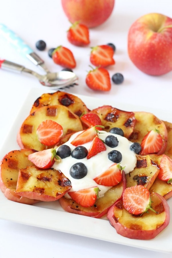 Waffle Iron Recipes for Kids: Baked Apples