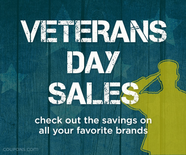 DEAL ALERT: Veterans Day Freebies & Sales | thegoodstuff