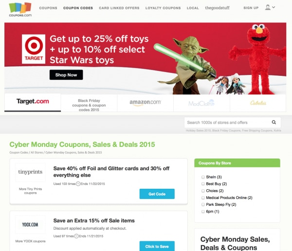 2cdff5accedd Ultimate Guide  Black Friday   Cyber Monday Shopping - thegoodstuff