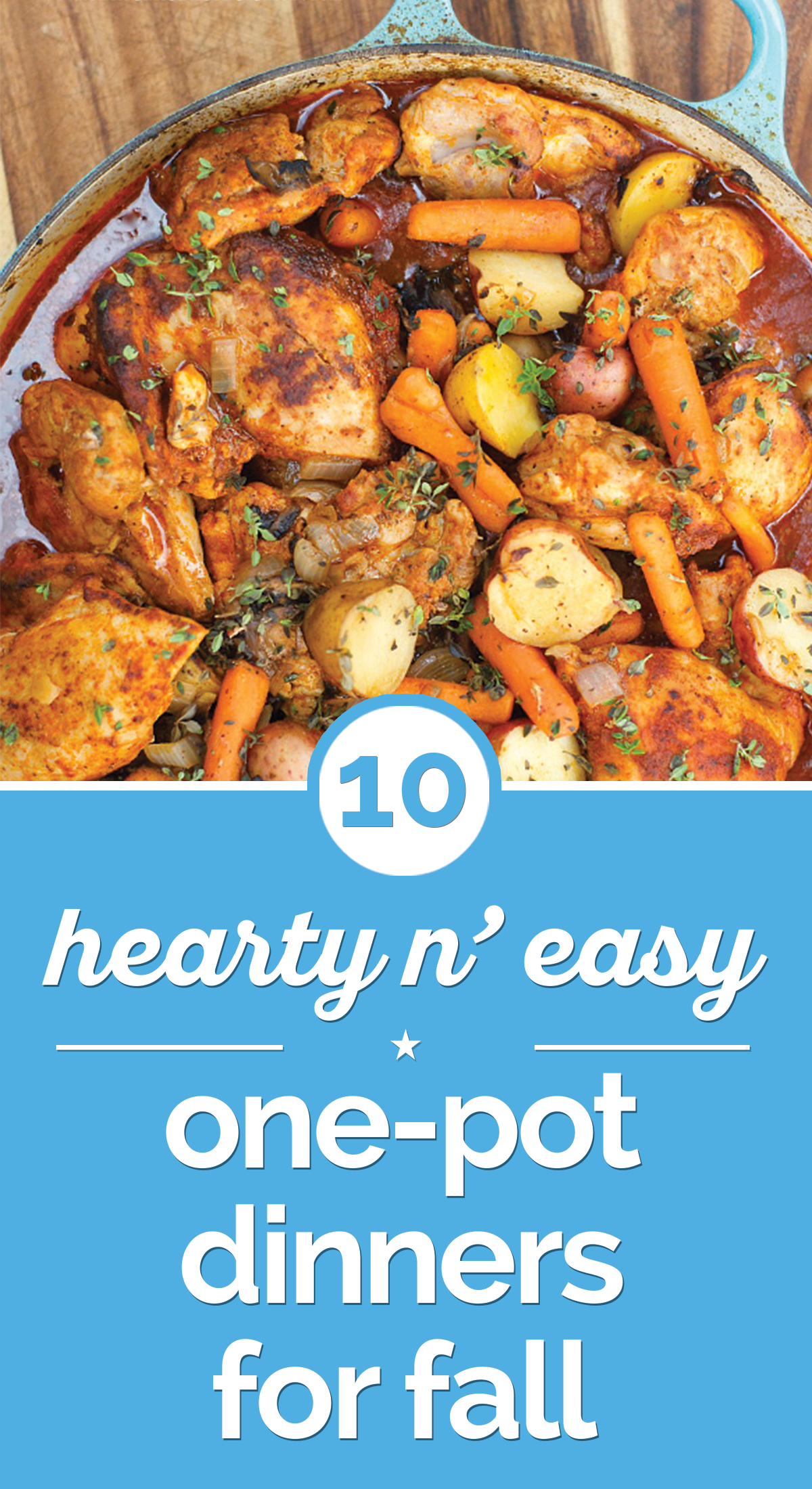 10 Hearty n' Easy One-Pot Dinners for Fall | thegoodstuff