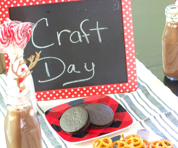 How to host a kids holiday craft party thegoodstuff for How to be a good party host