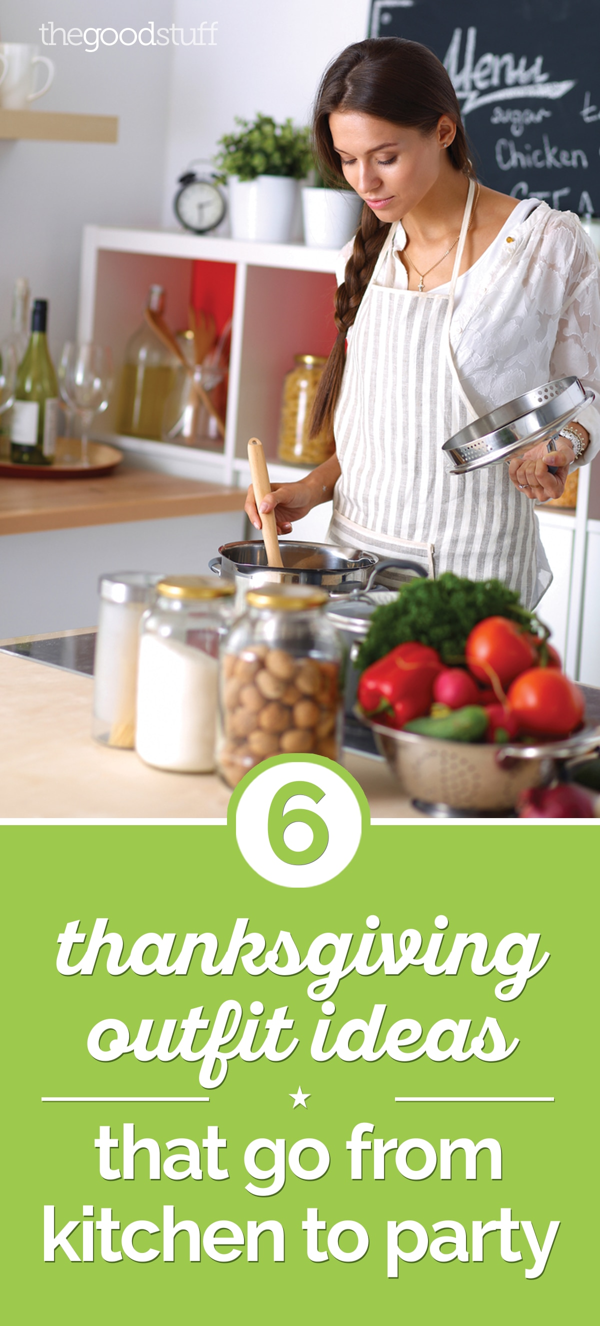 6 Thanksgiving Outfit Ideas That Go from Kitchen to Party | thegoodstuff