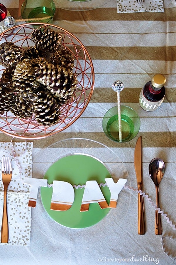 16 easy diy thanksgiving table d cor ideas you clip coupon Thanksgiving table decorations homemade