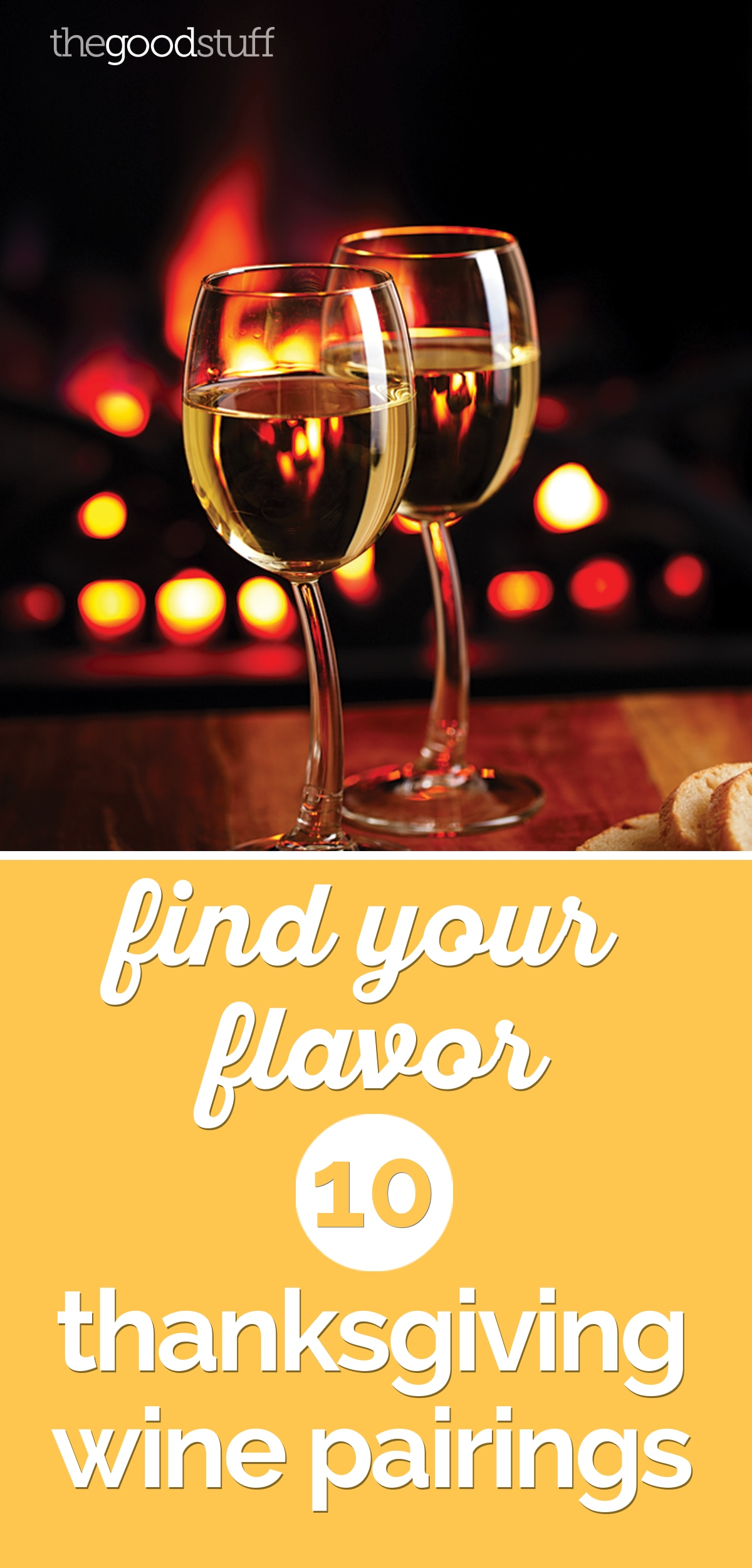 Find Your Flavor: 10 Thanksgiving Wine Pairings | thegoodstuff