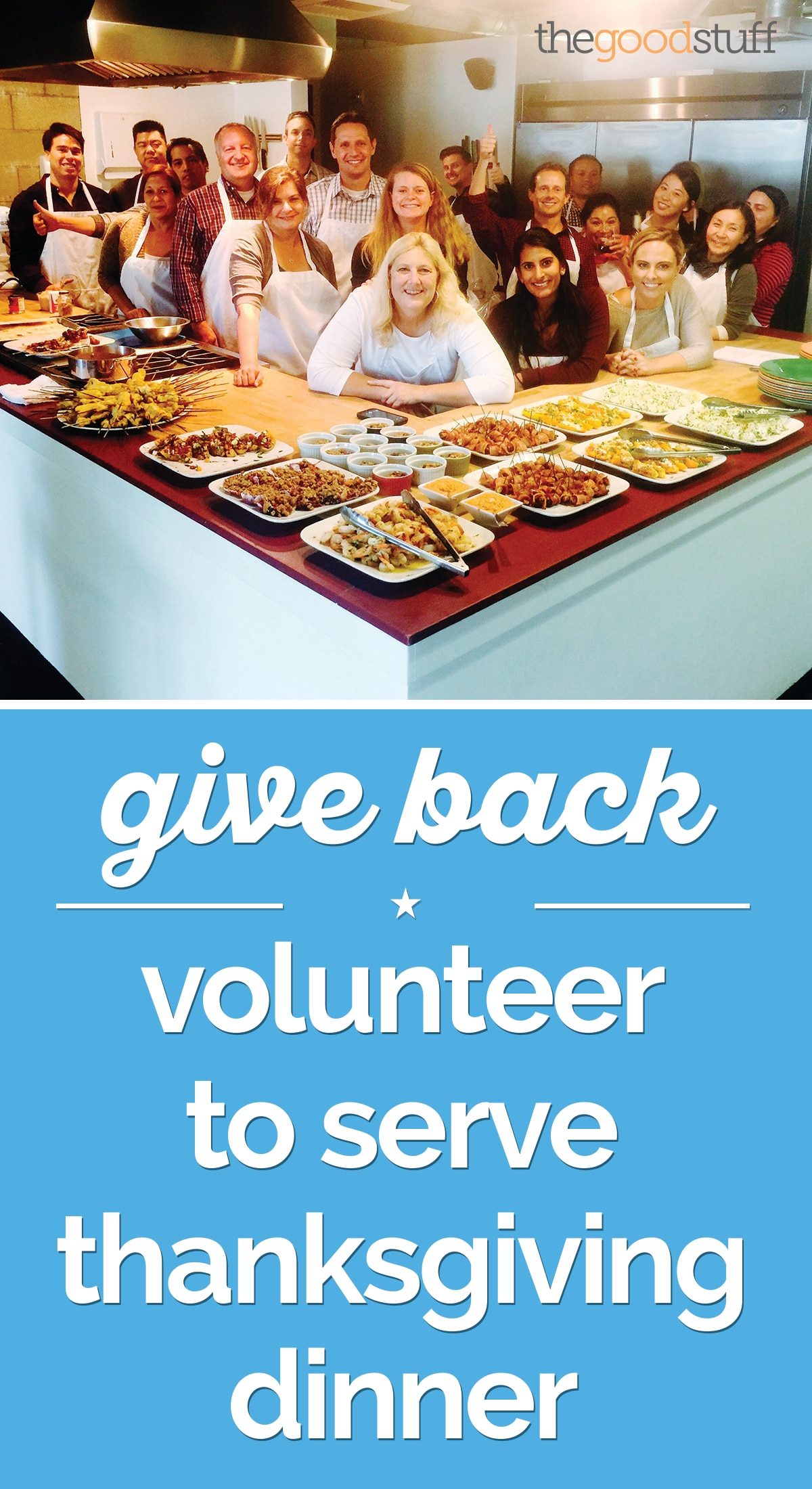 Give Back: Volunteer to Serve Thanksgiving Dinner | thegoodstuff