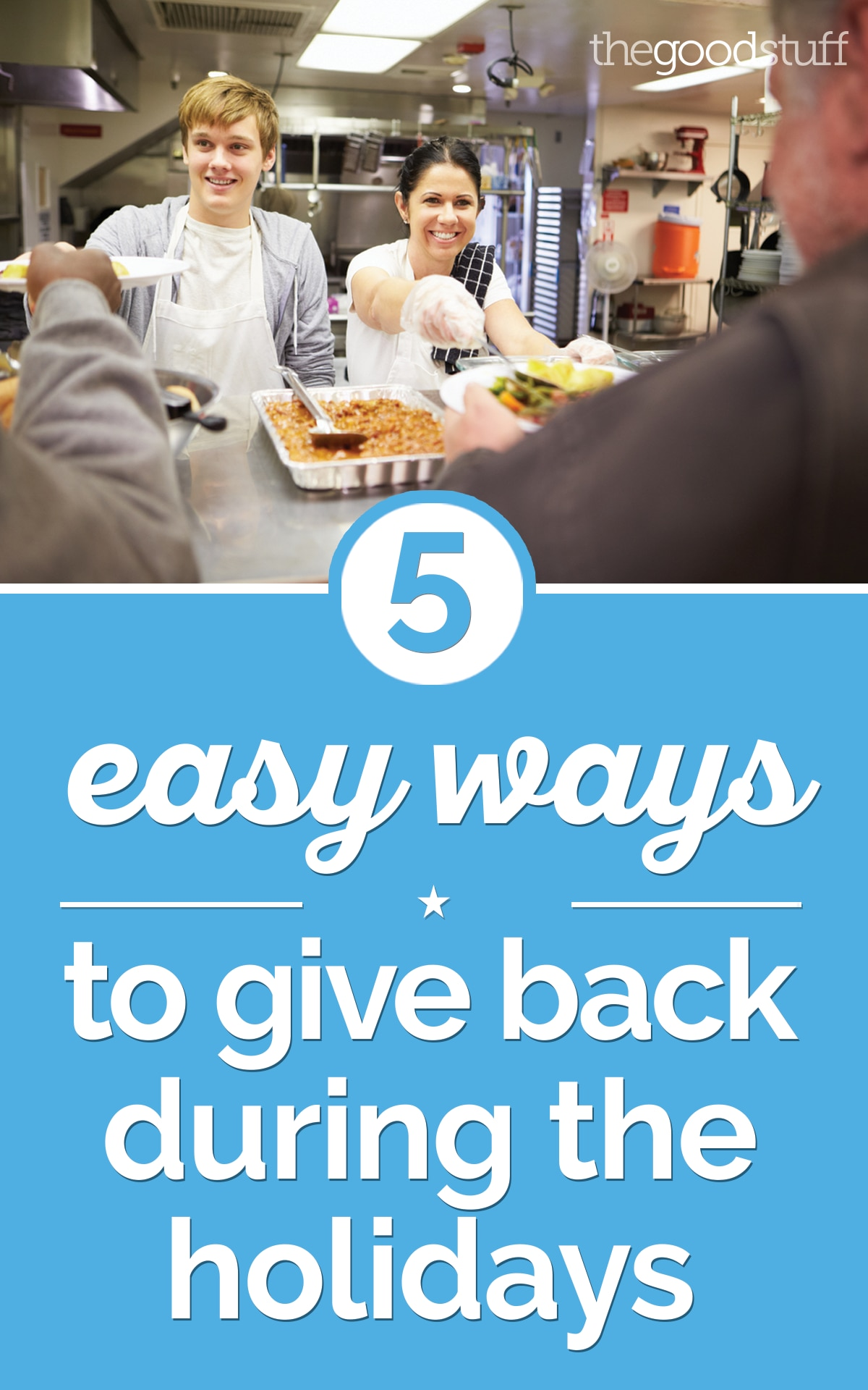 5 Easy Ways to Give Back During the Holidays | thegoodstuff