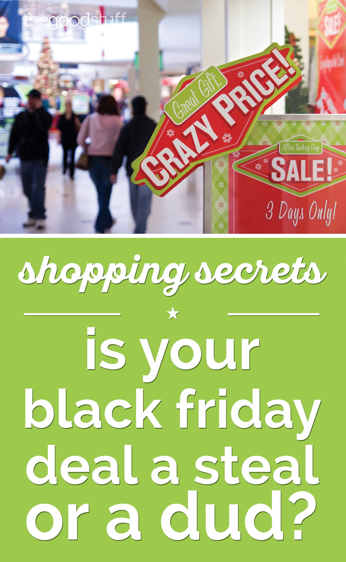 Shopping Secrets: Are Your Black Friday Deals a Steal or a Dud? |thegoodstuff