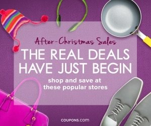 Best After Christmas Sales 2015