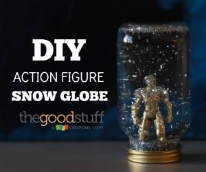 DIY Action Fig Snow Globe small Thumbnail