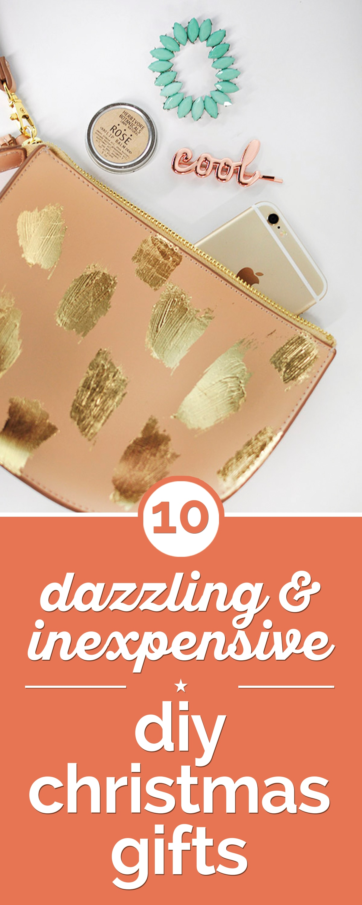 10 Dazzling & Inexpensive DIY Christmas Gifts | thegoodstuff