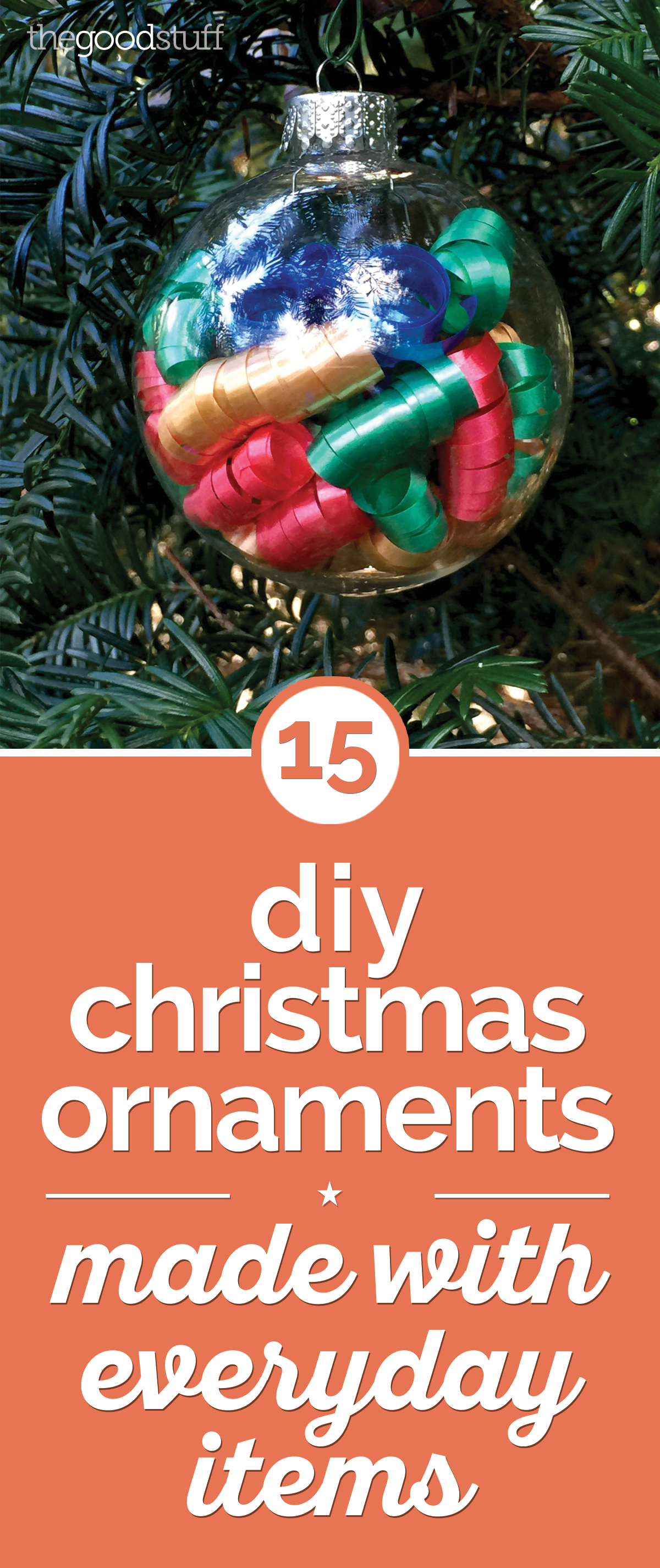 15 Glam Easy Diy Christmas Ornaments Thegoodstuff