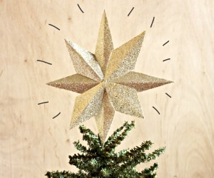 DIY Christmas Tree Topper_feat