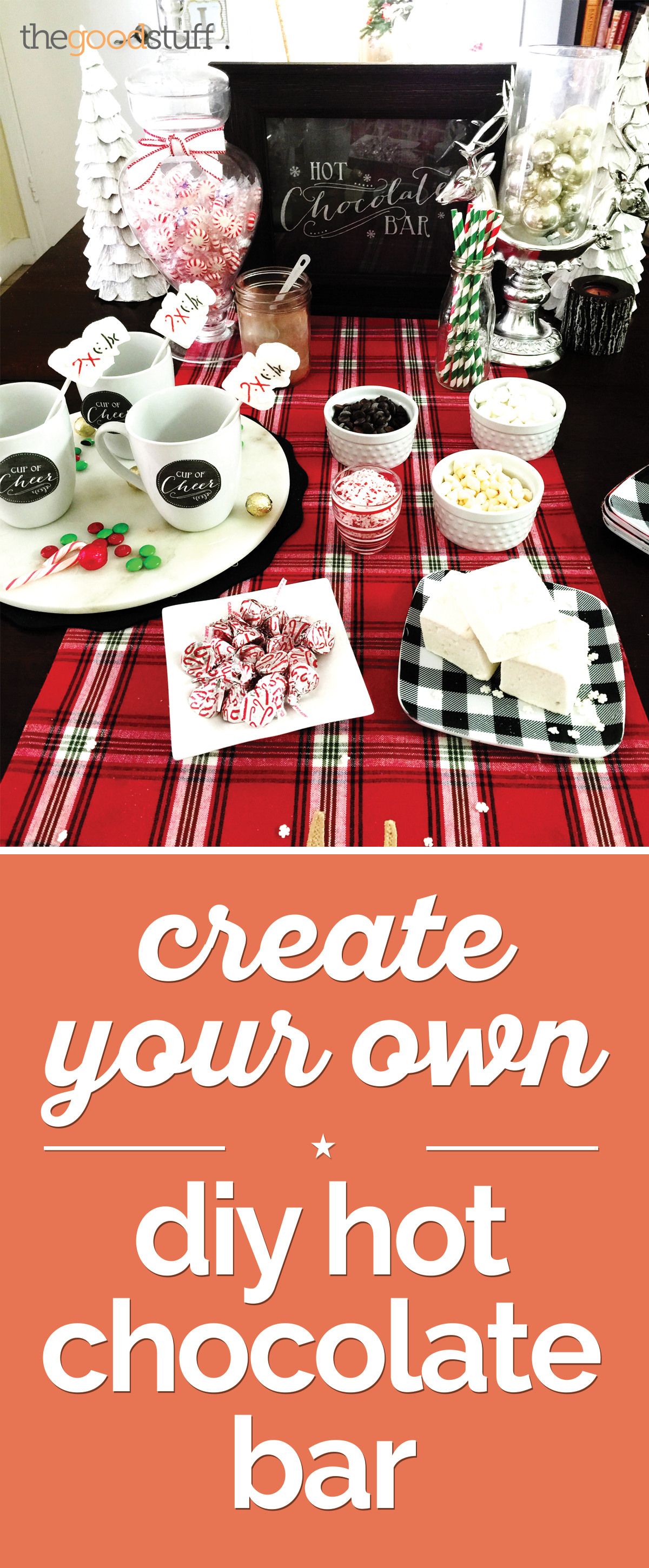 Create Your Own DIY Hot Chocolate Bar | thegoodstuff