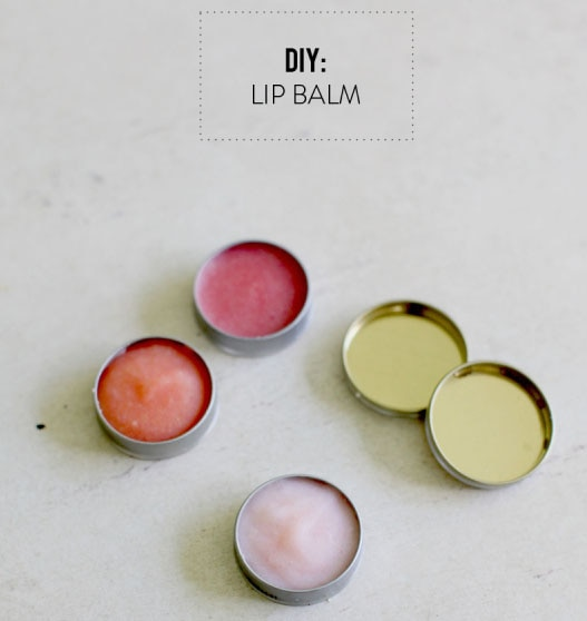 7 DIY Spa Gifts: DIY Lip Balm | thegoodstuff