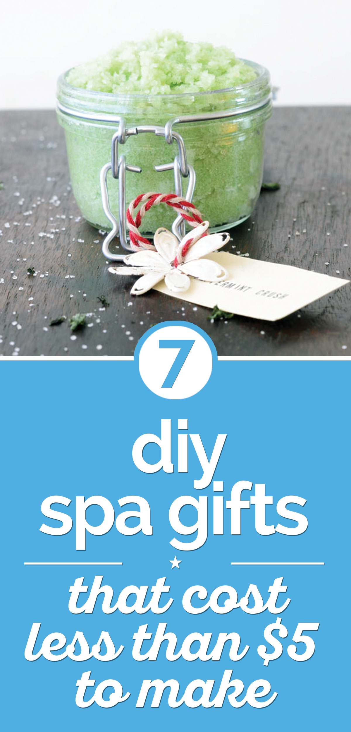 7 DIY Spa Gifts That Cost Less that $5 To Make | thegoodstuff