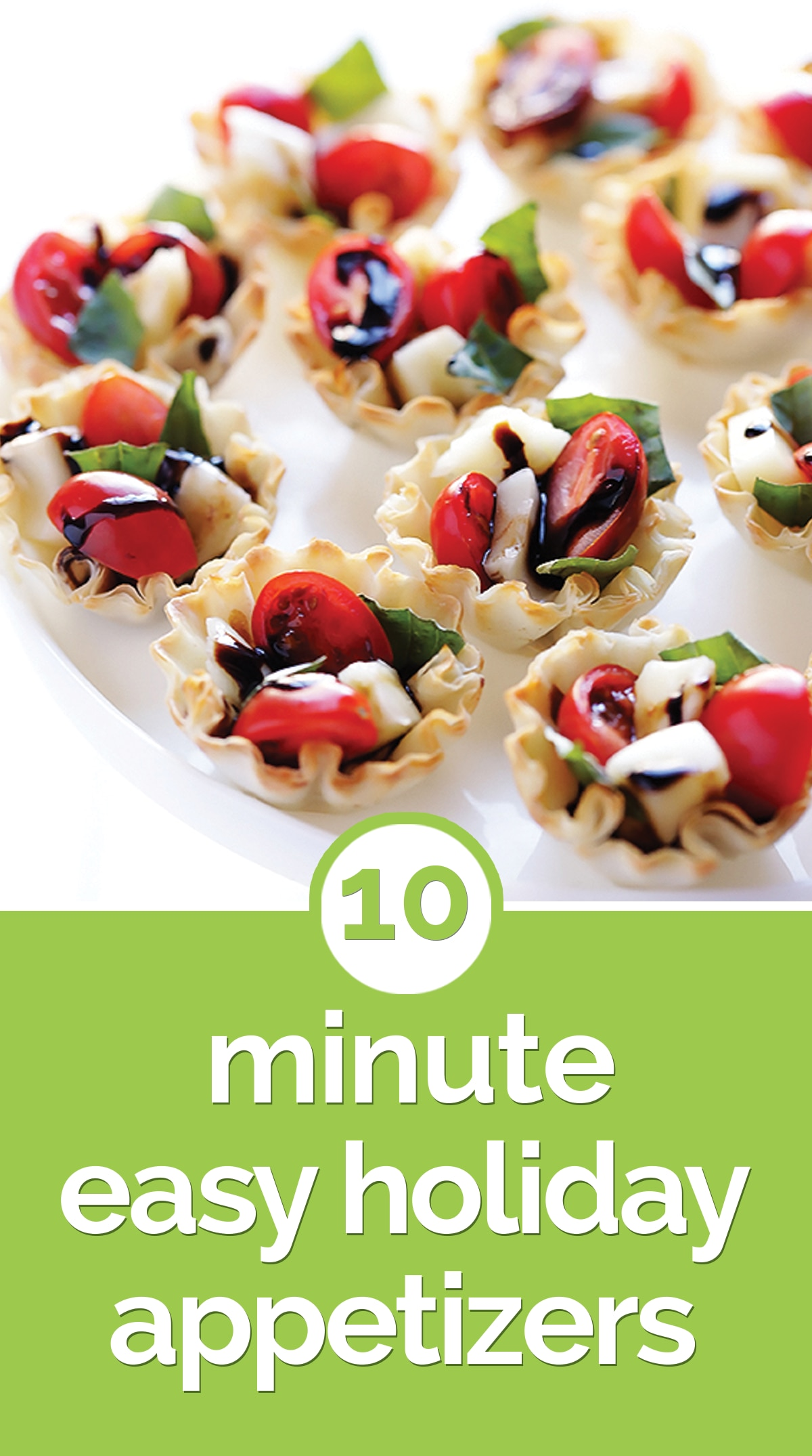 10-Minute Easy Holiday Appetizers | thegoodstuff
