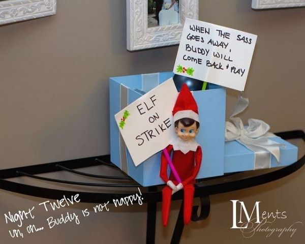 30 Funny & Easy Elf on the Shelf Ideas! | thegoodstuff