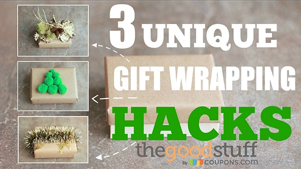 Three Unique Gift Wrapping Ideas (VIDEO) | thegoodstuff