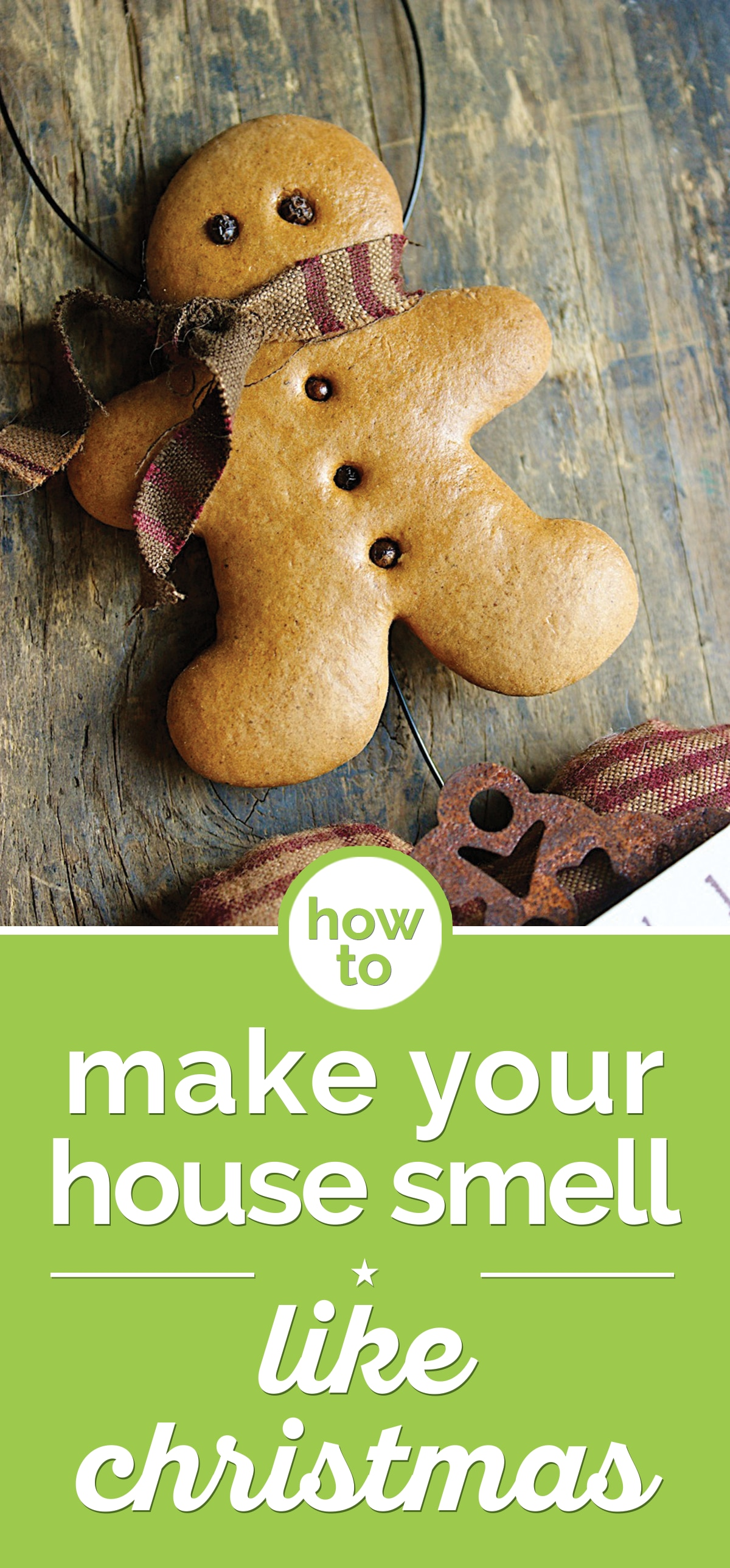 How to make your house smell like christmas thegoodstuff for What makes house smell good