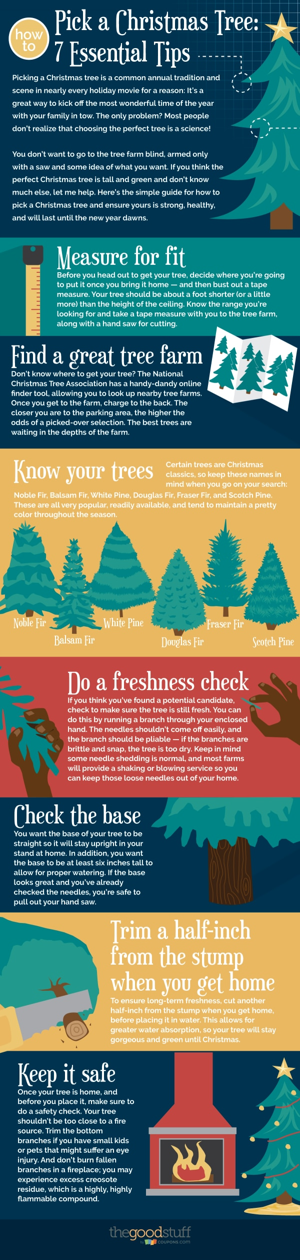How to Pick a Christmas Tree: 7 Essential Tips | thegoodstuff