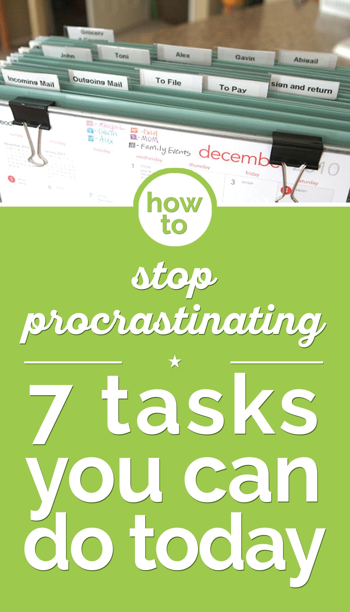 How to Stop Procrastinating: 7 Tasks You Can Do Today | thegoodstuff