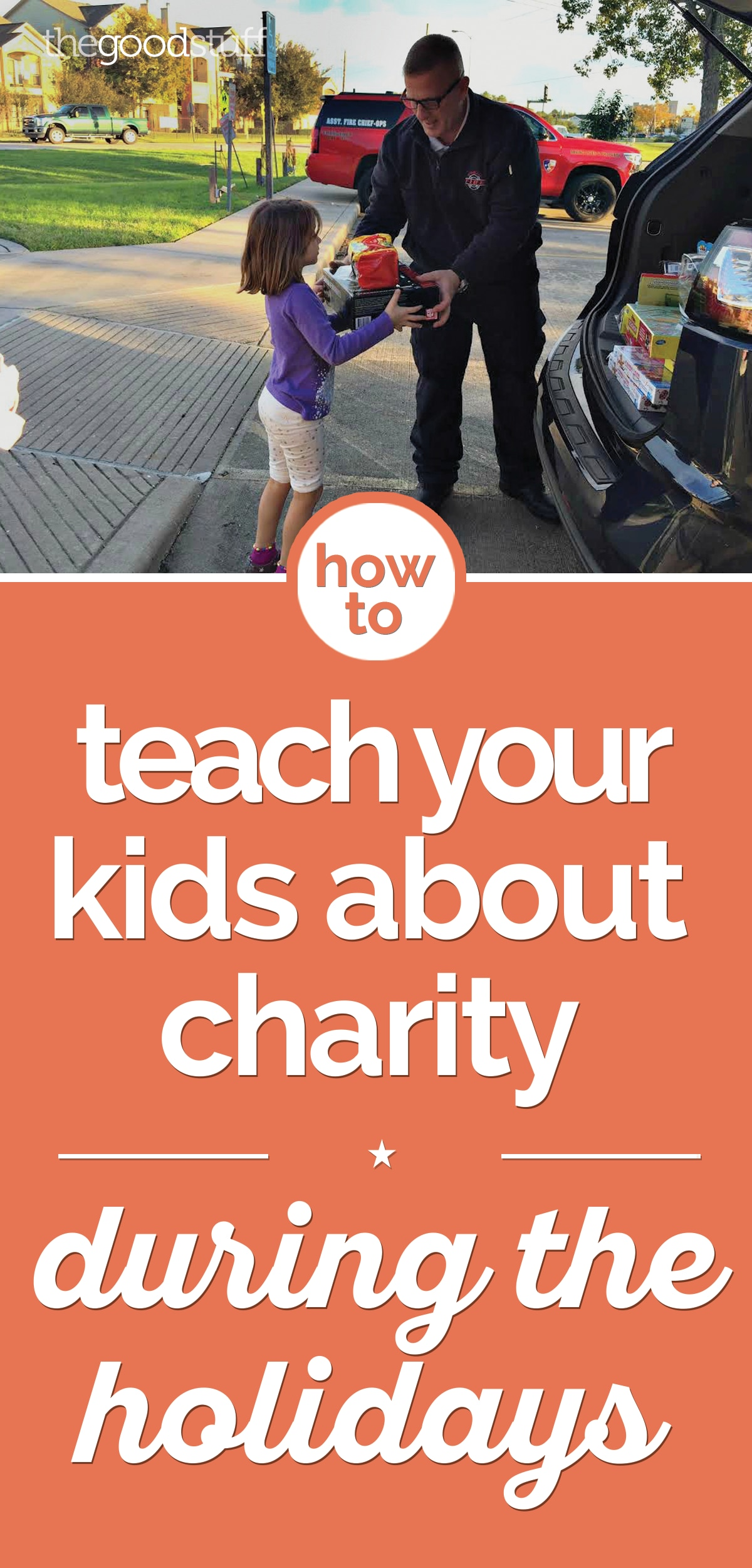 How to Teach Kids About Charity During the Holidays | thegoodstuff