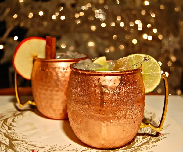 2 Moscow Mule Mocktail Recipes For Your DDs!